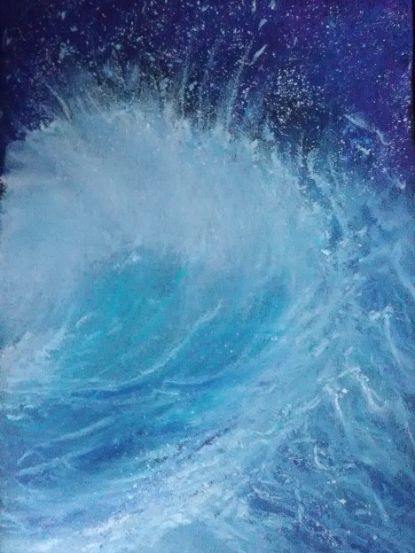 pas de vagues... bleu - 10-09-17